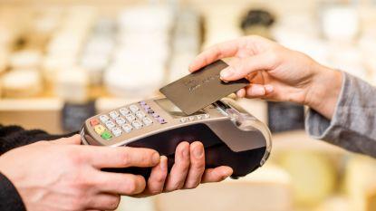 Geen extra kosten meer voor betalingen met bank- of kredietkaart
