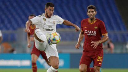 Geen zege voor Real in laatste oefenduel, Hazard & Courtois met twijfels naar competitiestart