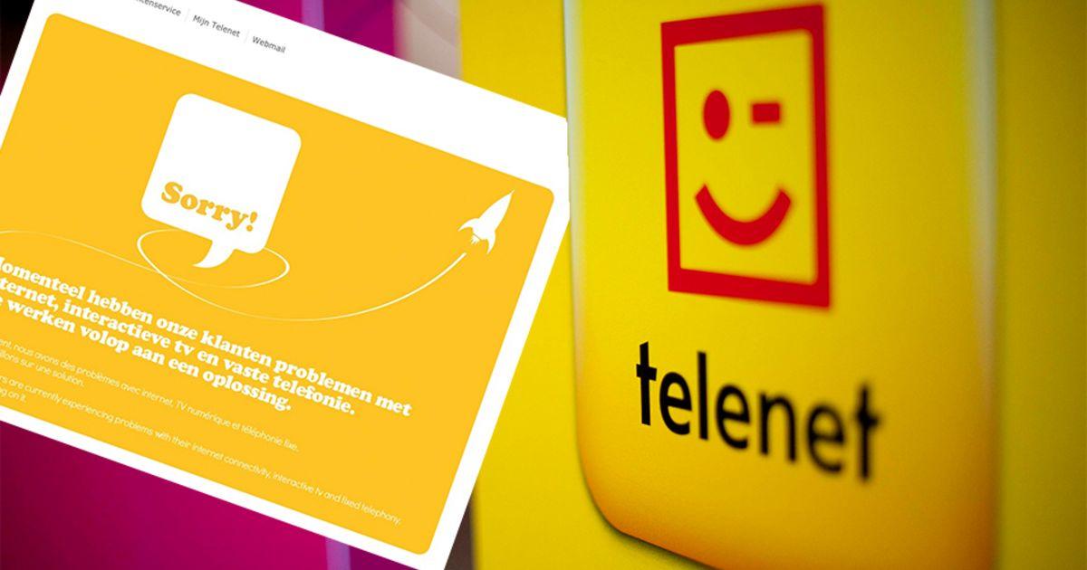 Storing Bij Telenet: Webmail Opnieuw Beschikbaar