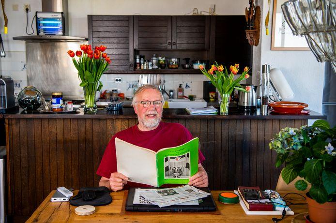 Feyenoord; Charles Boogaard - 50 jaar terug ging hij liftend vanuit Gouda naar Milaan. Foto: Frank de ROo