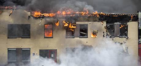 Politie vermoedt brandstichting bij Tasche in Albergen, man aangehouden