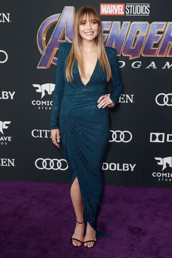 Elizabeth Olsen aka Scarlet Witch.