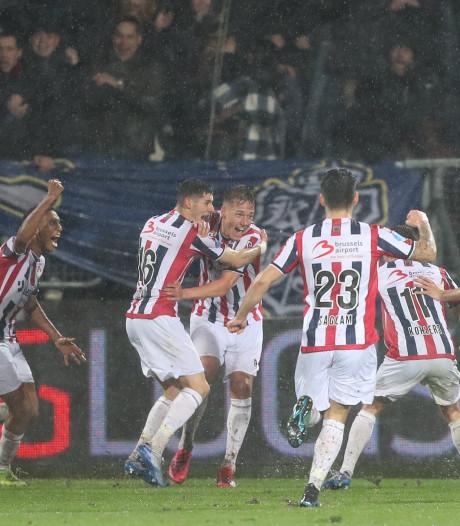 Willem II knokt zich in 'dying seconds' naast FC Utrecht