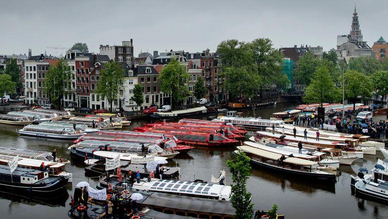 Amsterdam haalt dit jaar veel minder dividend binnen. Beeld Robin van Lonkhuijsen/ANP