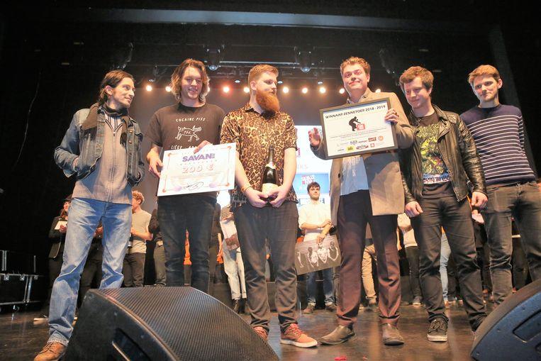De Kanaalvissers wonnen de negende editie van Zennetoer.