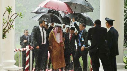 Entourage van 1.500 mensen en 459 ton bagage: zo reist koning van Saoedi-Arabië