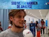 De analyse: 500 meter mannen