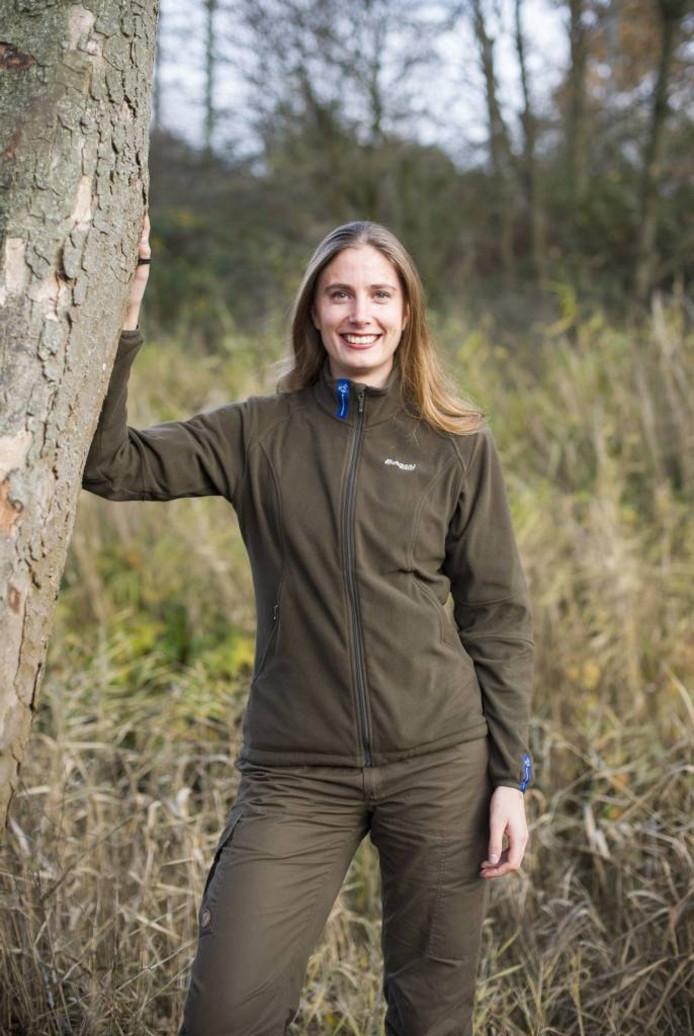 Vrijwillige boswachter Judith Slagt (29) uit Arnhem: 'Boswachter, dat klinkt gaaf. Dat spreekt aan'.