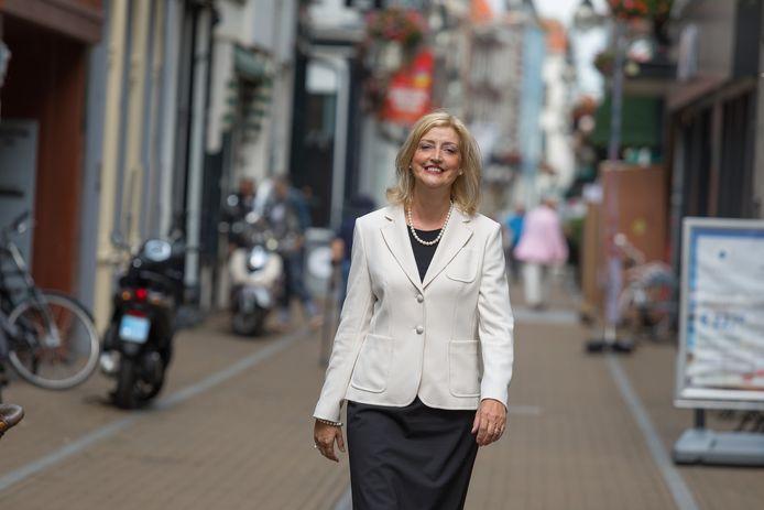 Burgemeester Reinie Melissant.