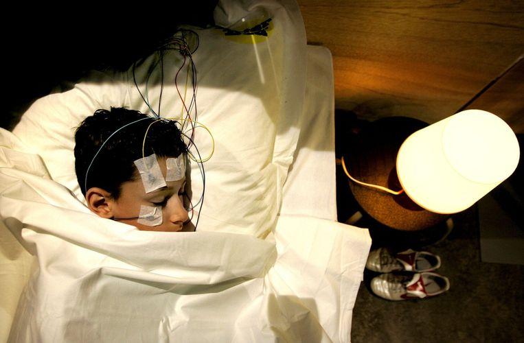 Slaapexperiment. Beeld ANP