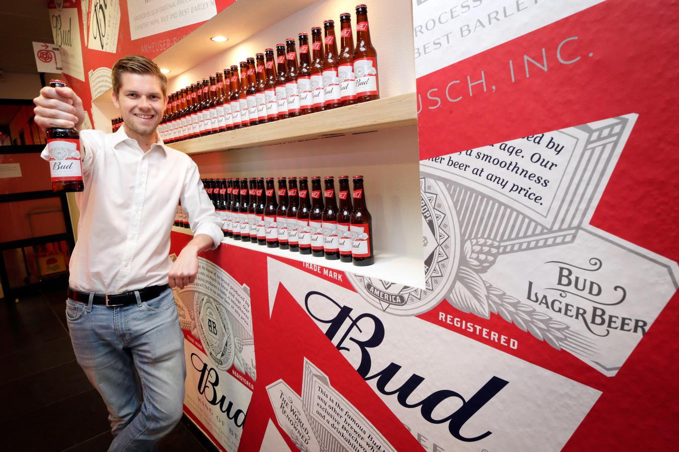 Nicolas Bartholomeeusen, directeur van Bierbrouwerij AB InBev ziet goed kansen van Budweiser in Nederland.