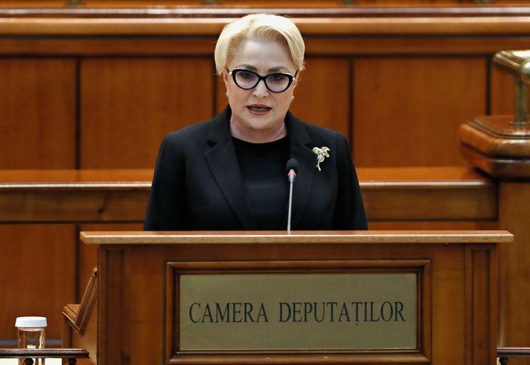 De sociaaldemocratische regering onder leiding van premier Viorica Dancila moet vertrekken.