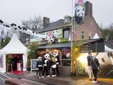 Feestelijk onthaal panda's in Rhenen