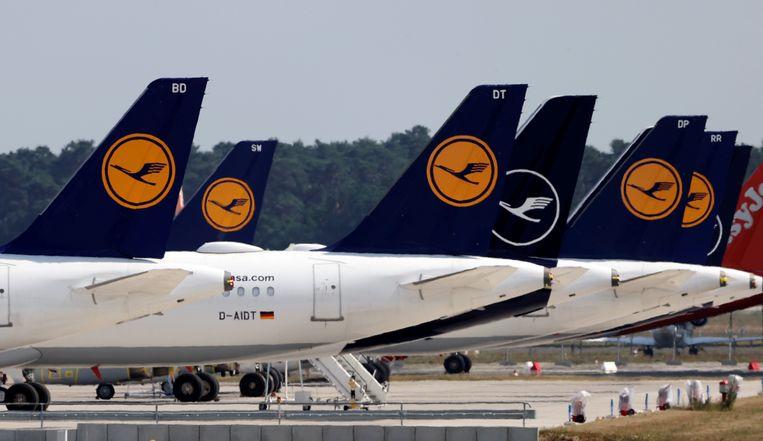 De Duitse regering stelt geen eisen aan de reddingsboei van 9 miljard euro voor Europa's grootste luchtvaartmaatschappij.  Beeld REUTERS