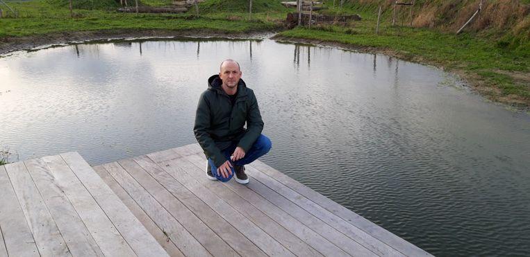 Jeroen Eenens van CD&V aan de nieuwe poel.