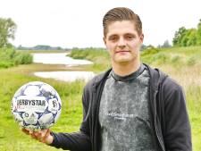 Patrick Maneschijn hoopt op herstart van zijn loopbaan bij CSV Apeldoorn