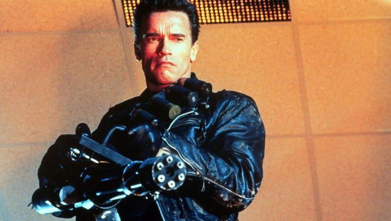 Arnold Schwarzenegger in de tweede Terminatorfilm Beeld ANP