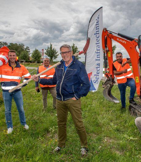 Aanleg snel internet nu ook in buitengebied Zaltbommel van start