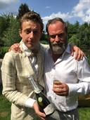 Bent Van Looy en Tomas De Soete, in 'Fiskepark'.