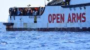 """Situatie aan boord van Open Arms voor Lampedusa wordt """"onhoudbaar"""""""