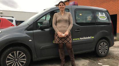 Delphine Hanssens van Taxi Leiedal maakt kans op award