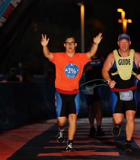 Le premier athlète avec le syndrome de Down à boucler un Ironman