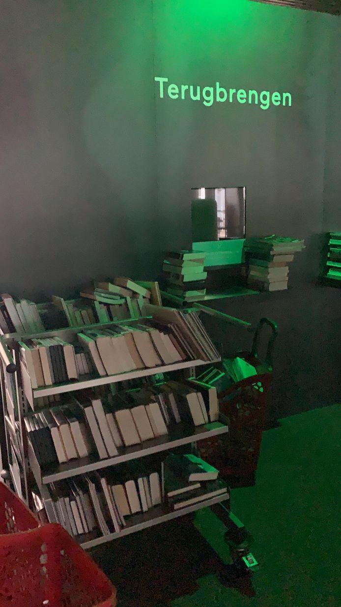 Manueel uitlenen van boeken