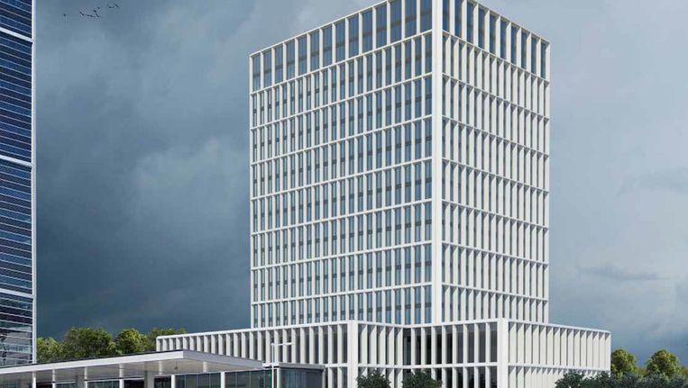 In 2019 betrekken 900 werknemers van het Europees Medicijnagentschap een gloednieuw kantoor aan de Scarlattilaan op de Zuidas Beeld -