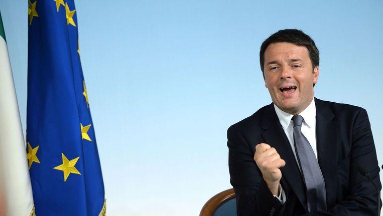 Italiaanse premier Matteo Renzi Beeld ANP