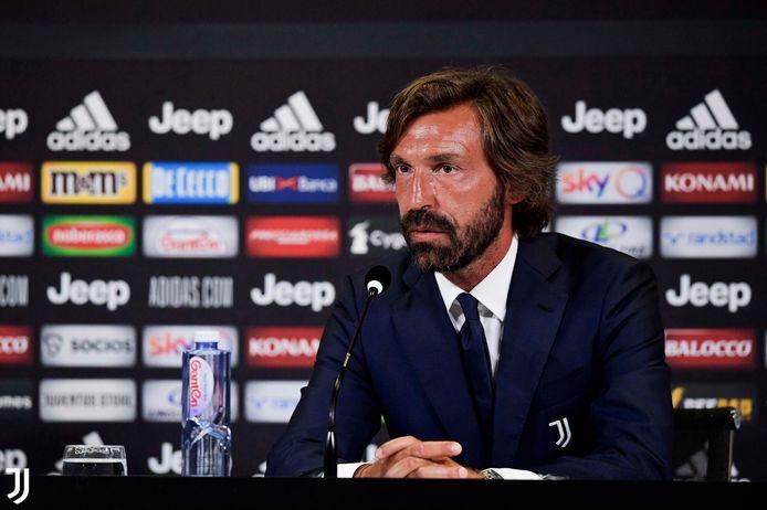 Pirlo is de nieuwe coach van Juventus.