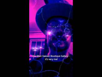 Boy George komt naar Latemse kunstgalerij en dat kondigt hij zelf aan in een filmpje