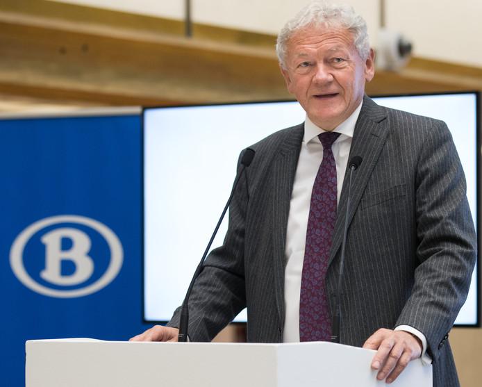 Le ministre fédéral de la Mobilité François Bellot (MR).