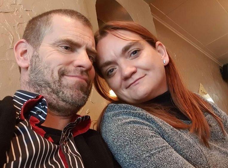 Steven Merlevede (45) en Stefanie Christiaens (35) in betere tijden.
