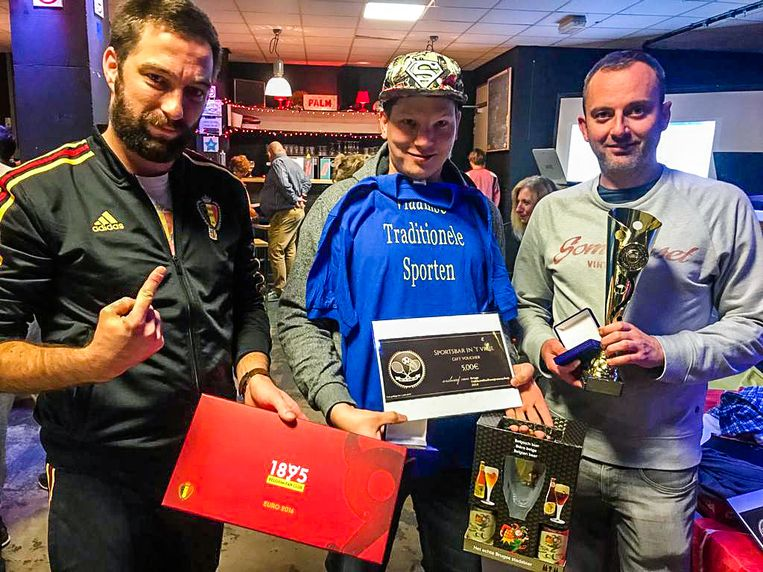 Brugge charlie's Devils winnen tafelvoetbalwedstrijd: Bram Smet en Stijn Hacke