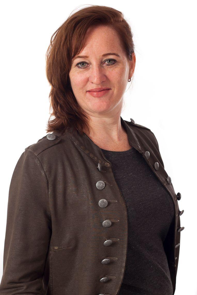 Nicol Tadema, oprichter van tekstbureau voor arbeidsmarktcommunicatie Voor Tekst. Beeld